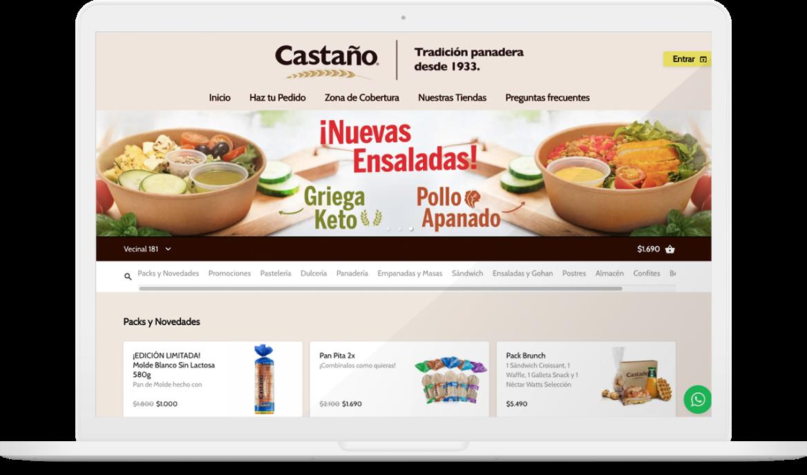Restaurant Castaño en Justo